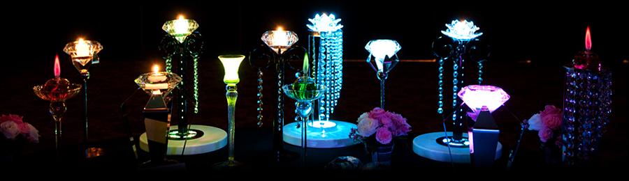 ブライダル演出のブライト-LED演出・キャンドル・発光液